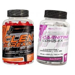 Trec Clenburexin 90 kaps + L-Carnitine Complex 90kaps