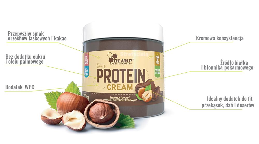 Olim Proteinowy krem czekoladowy