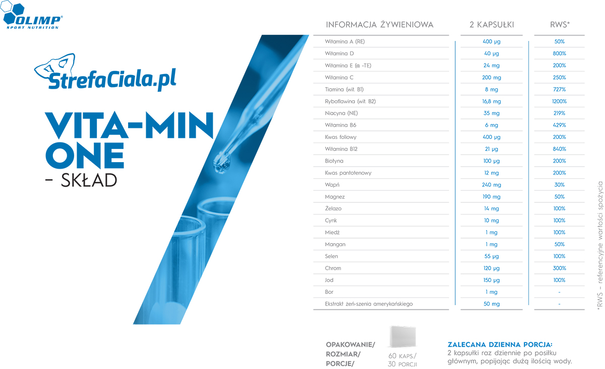 Skład Olimp Vita-Min One