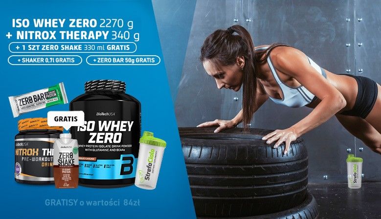 Biotech Iso Whey Zero + GRATISY