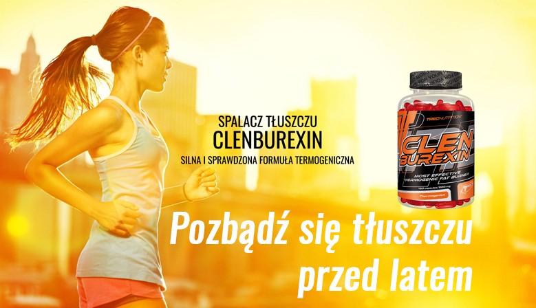 Clenburexin - skuteczny spalacz tłuszczu