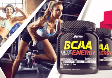Olimp BCAA Energy 500g